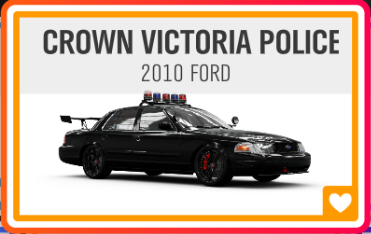 CROWN VICTORIA POLICE